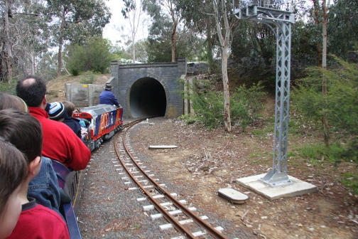 Eltham Miniature Railway, fun for all